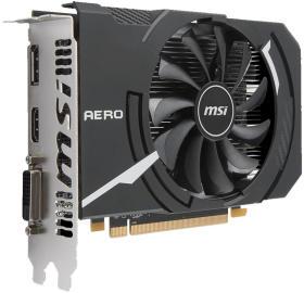 MSI Radeon RX 550 AERO ITX 4G OC [PCIExp 4GB]
