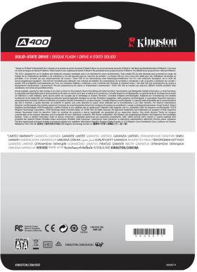 キングストン A400 SSD SA400S37/480G