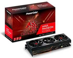 Red Dragon AMD Radeon RX 6800 AXRX 6800 16GBD6-3DHR/OC