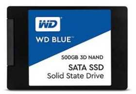 Western Digital WD Blue 3D NAND SATA WDS500G2B0A