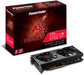 PowerColor Red Dragon Radeon RX 5700XT AXRX 5700XT 8GBD6-3DHR/OC