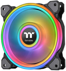 Thermaltake Riing Quad PLUS 12 RGB 3Pack CL-F088-PL12SW-A [ブラック]