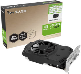 玄人志向 GF-GT1030-E2GB/D4 [PCIExp 2GB]