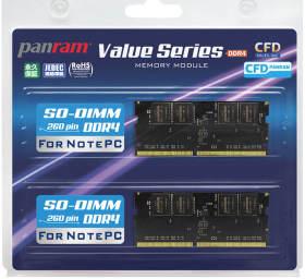 CFD W4N2666PS-8G [SODIMM DDR4 PC4-21300 8GB 2枚組]