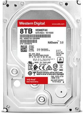WD80EFAX [8TB SATA600 5400]