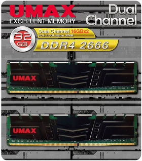 umax UM-DDR4D-2666-32GBHS
