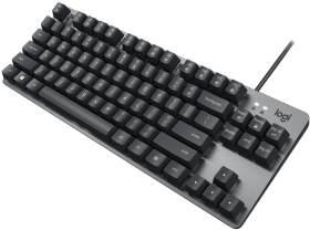 TKL Mechanical Keyboard K835-Linear K835GPR 赤軸 [グラファイト]