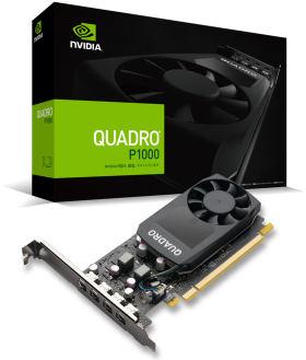 NVIDIA Quadro P1000 EQP1000-4GER2