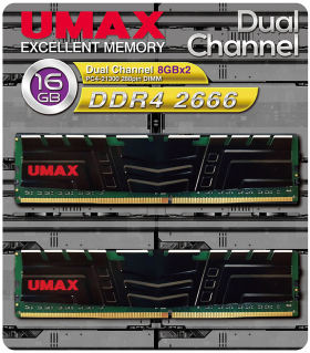 umax UM-DDR4D-2666-16GBHS