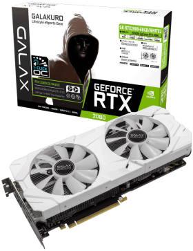 玄人志向 GALAKURO GK-RTX2080-E8GB/WHITE2 [PCIExp 8GB]