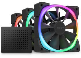 NZXT Aer RGB 2 120mm Triple Starter Pack HF-2812C-TB