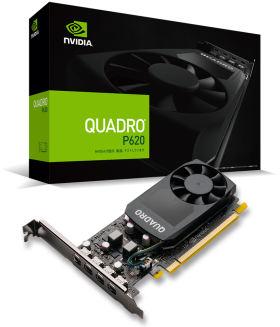 NVIDIA Quadro P620 EQP620-2GER2 [PCIExp 2GB]