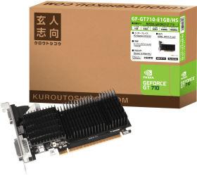 玄人志向 GF-GT710-E1GB/HS [PCIExp 1GB]