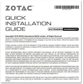 Zotac GAMING GeForce GTX 1660 Ti 6GB GDDR6 ZT-T16610F-10L [PCIExp 6GB]