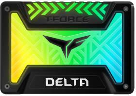 Team T-FORCE DELTA RGB SSD T253TR001T3C313 [ブラック]