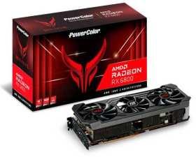 Red Devil AMD Radeon RX 6800 16GB GDDR6 AXRX 6800 16GBD6-3DHE/OC [PCIExp 16GB]