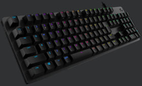 G512 Carbon RGB Mechanical Gaming Keyboard (Linear) G512r-LN [ブラック]