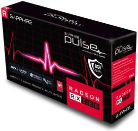 Sapphire PULSE RADEON RX 580 8G GDDR5 OC V2 [PCIExp 8GB]