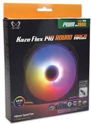 KAZE FLEX 140 ROUND ARGB PWM 1800RPM KF1425FD18AR-P