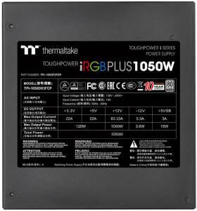 Thermaltake Toughpower iRGB PLUS 1050W PLATINUM PS-TPI-1050F2FDPJ-1 [Black]