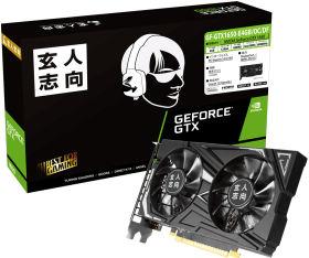 玄人志向 GF-GTX1650-E4GB/OC/DF [PCIExp 4GB]