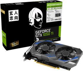 玄人志向 GF-GTX1050Ti-E4GB/DF3 [PCIExp 4GB]