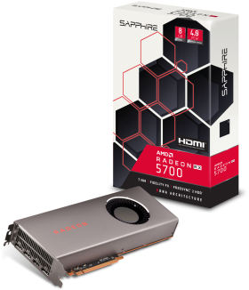 RADEON RX 5700 8G GDDR6 HDMI/TRIPLE DP (UEFI) [PCIExp 8GB]
