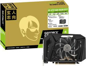 玄人志向 GF-GTX1660-E6GB/SF/P [PCIExp 6GB]