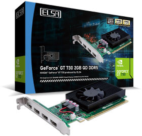 GeForce GT 730 2GB QD DDR5 GD730-2GERQDD5 [PCIExp 2GB]
