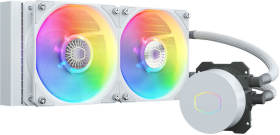 クーラーマスター MasterLiquid ML240L V2 ARGB White Edition MLW-D24M-A18PW-RW