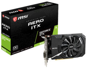 MSI GeForce GTX 1650 AERO ITX 4G OCV1 [PCIExp 4GB]
