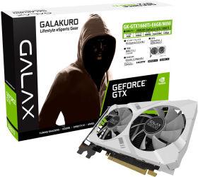 玄人志向 GALAKURO GK-GTX1660Ti-E6GB/MINI [PCIExp 6GB]
