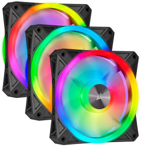 Corsair iCUE QL120 RGB Triple Fan Kit with Lighting Node CORE CO-9050098-WW