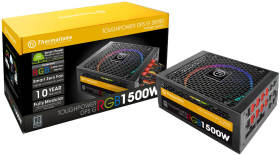Thermaltake Toughpower DPS G RGB 1500W TITANIUM PS-TPG-1500DPCTJP-T [Black]