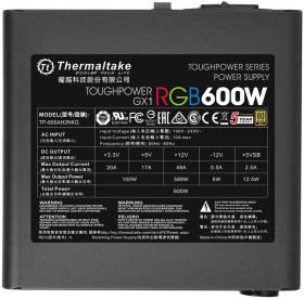 Thermaltake TOUGHPOWER GX1 RGB GOLD 600W PS-TPD-0600NHFAGJ-1