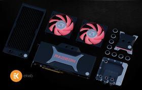 EKWBには、AMDの最新のCPUおよびGPU用の特別版の水冷部品を提供