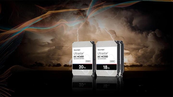 ウエスタンデジタル、EAMR HDDを100万台生産、20TB HDDの販売を開始
