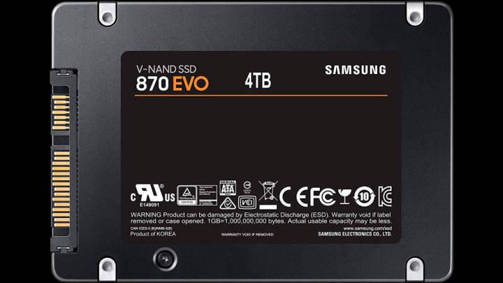 サムスン870 EVOが発表? 新しいSATAドライブがまもなく発売する可能性があります