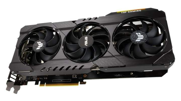 Asus GeForce RTX 3060 graphics card lineup
