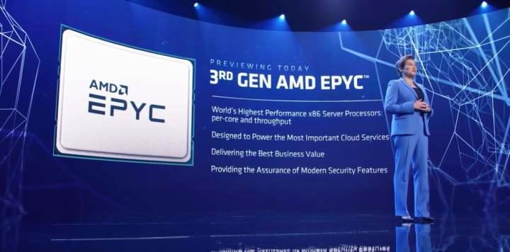 AMDの32コアEYPC MilanプロセッサはデモでIntelのフラッグシップXeonsを叩きのめす