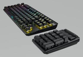 Asus ROG Claymore II キーボードを使用してテンキーボードを切り取ります。