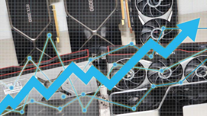 マイナーやスキャルパーのおかげで、Ampere、RDNA2 GPUのeBay価格は上昇を続けています。