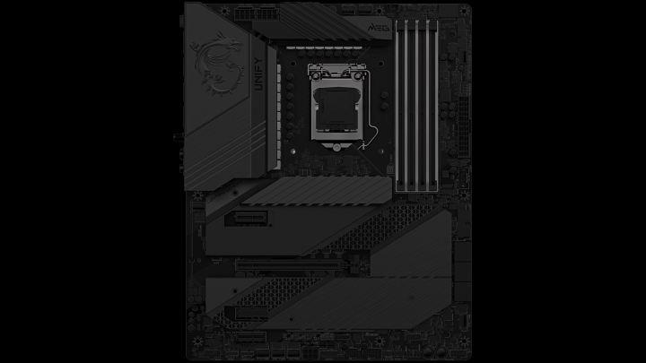 MSIはRGB嫌いの人向けにMEG Z590 Unifyマザーボードを準備