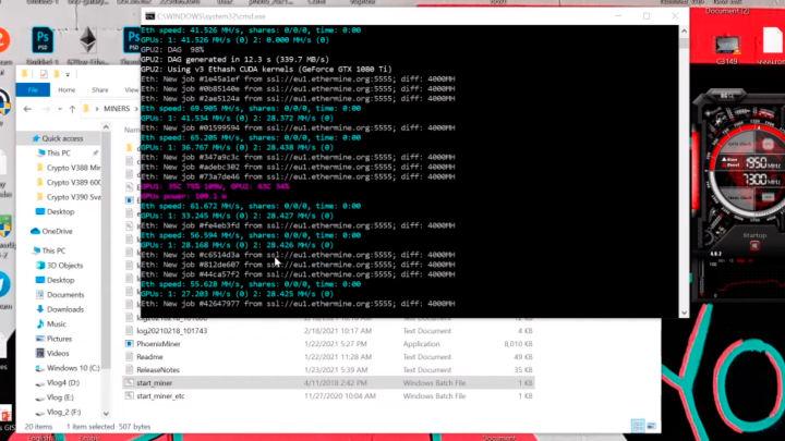 GeForce RTX 3060は、マイニング操作で42%のパフォーマンスヒットを記録します