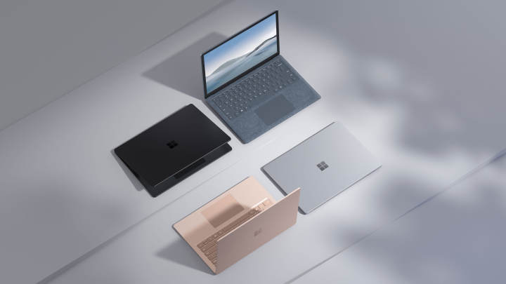 Microsoft Surface Laptop 4、CPUはIntelとAMDから選択可能、価格は999ドルから