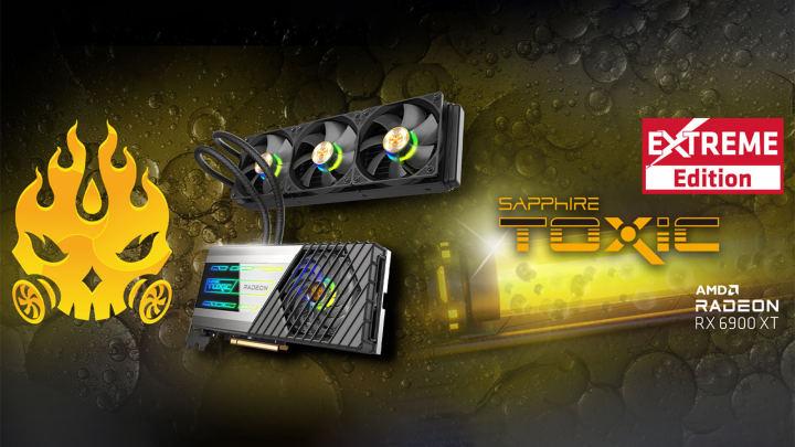 サファイア、Toxic Radeon RX 6900 XT Extreme editionを発表。最大2.73GHzのGPUを搭載可能