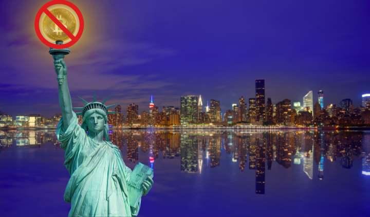 ニューヨーク州の法案は、環境への影響を調査するために、仮想通貨マイニングを禁止する可能性があります。