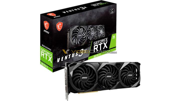 カスタムGeForce RTX 3070 Ti GPUは海外で1,800ドルから