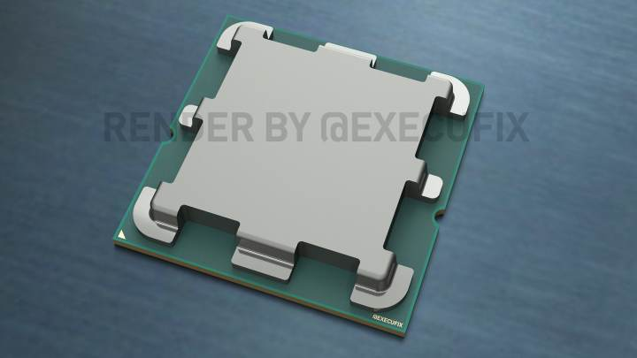 AMD Zen 4「Raphael」CPU レンダリングは魅力的なデザインを示す