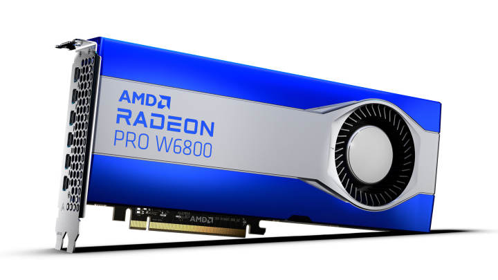 AMD Radeon Pro W6800, W6600, W6600M: RDNA2がプロになる